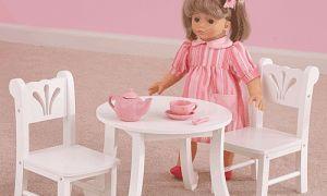 Как сделать стол для кукол своими руками: фото, видео