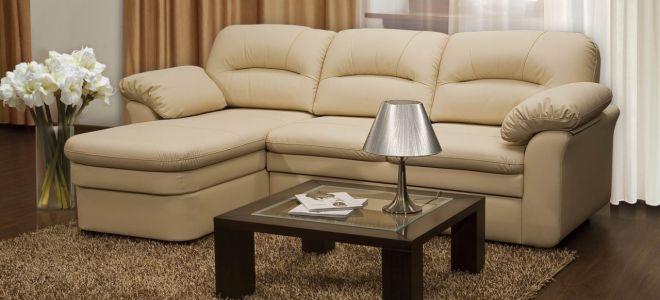 Какие бывают размеры углового дивана?