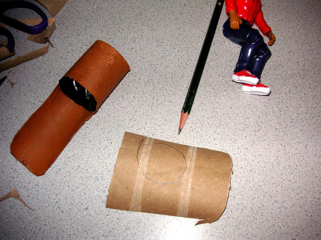 Стул из картона своими руками для кукол