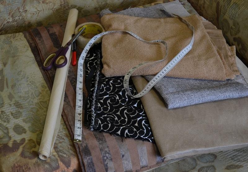 neobhodimoe-dlja-poshiva-chehla Как сшить чехол на диван своими руками: выкройки и пошив универсального чехла