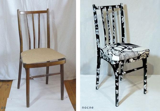 Восстановление старой мебели своими руками