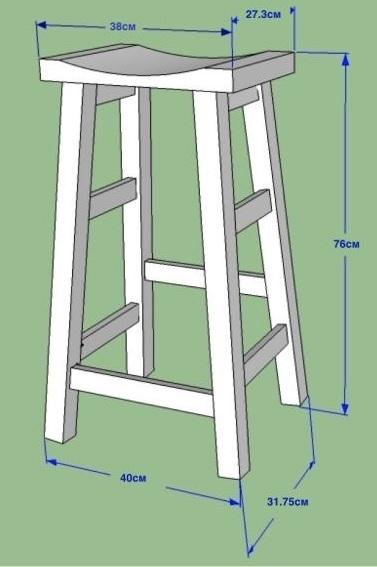 Как сделать деревянный стул фото 721