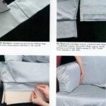 zautjuzhivaem-skladki-i-shem-chehol-150x150 Как сшить чехол на диван своими руками: выкройки и пошив универсального чехла