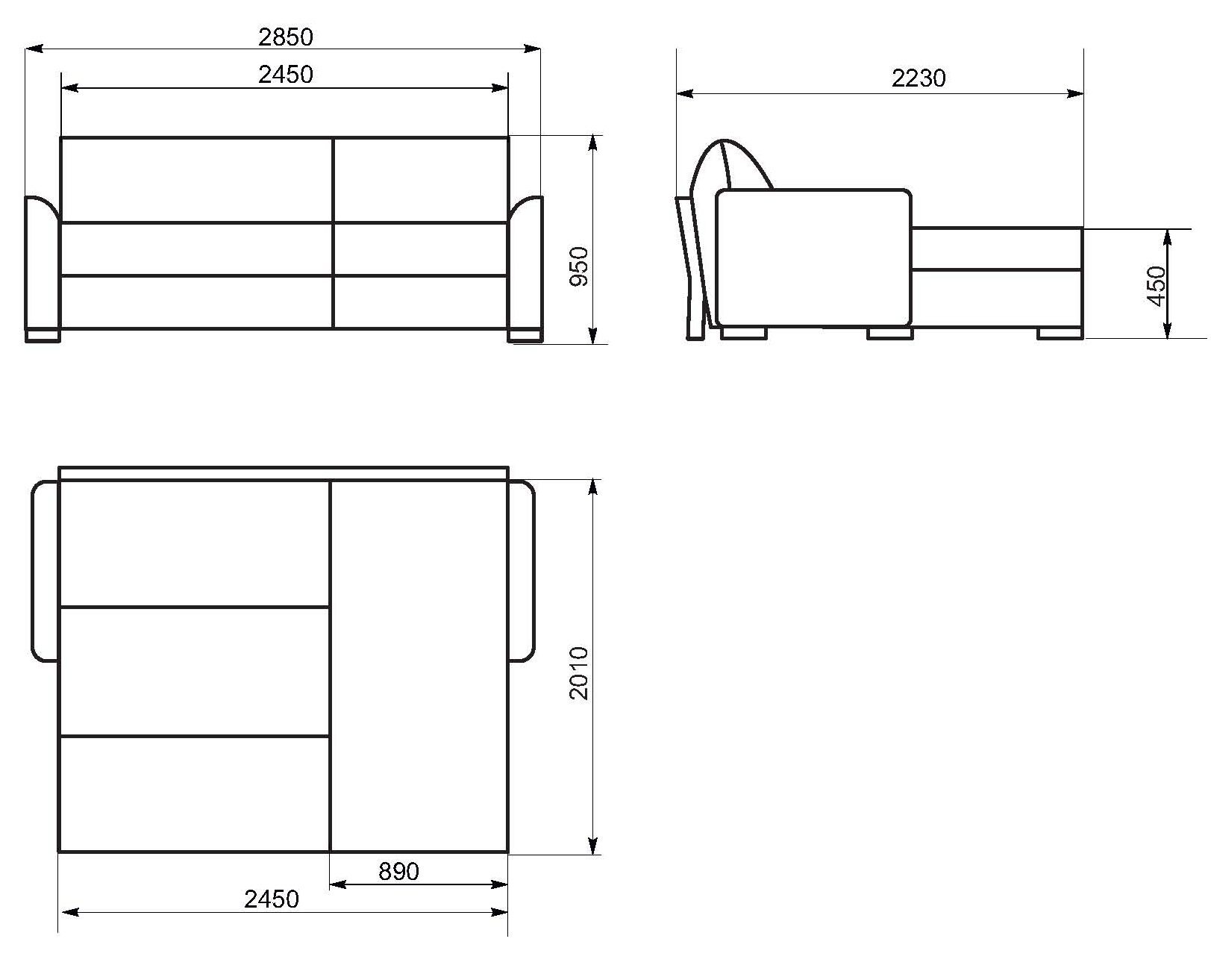 Схемы диванов подробно