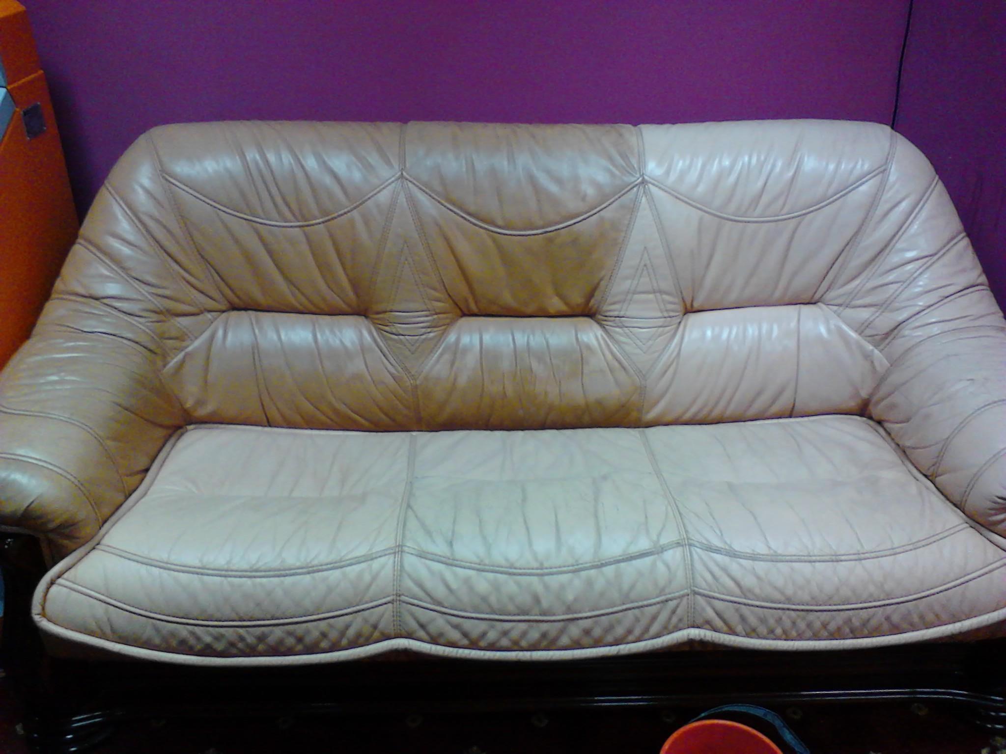 Кожаные диваны в домашних условиях 638