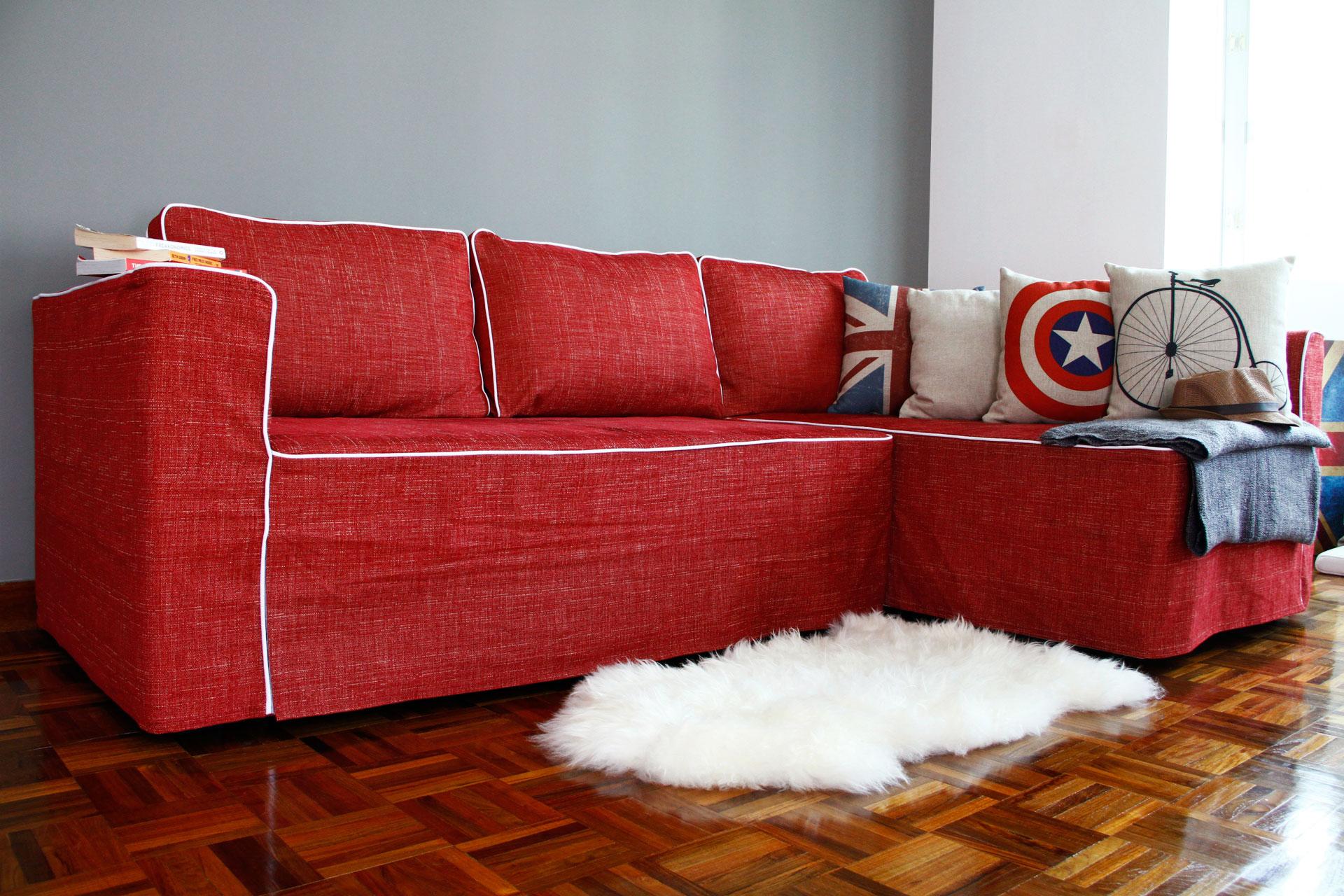 Как правильно сшить чехол на диван