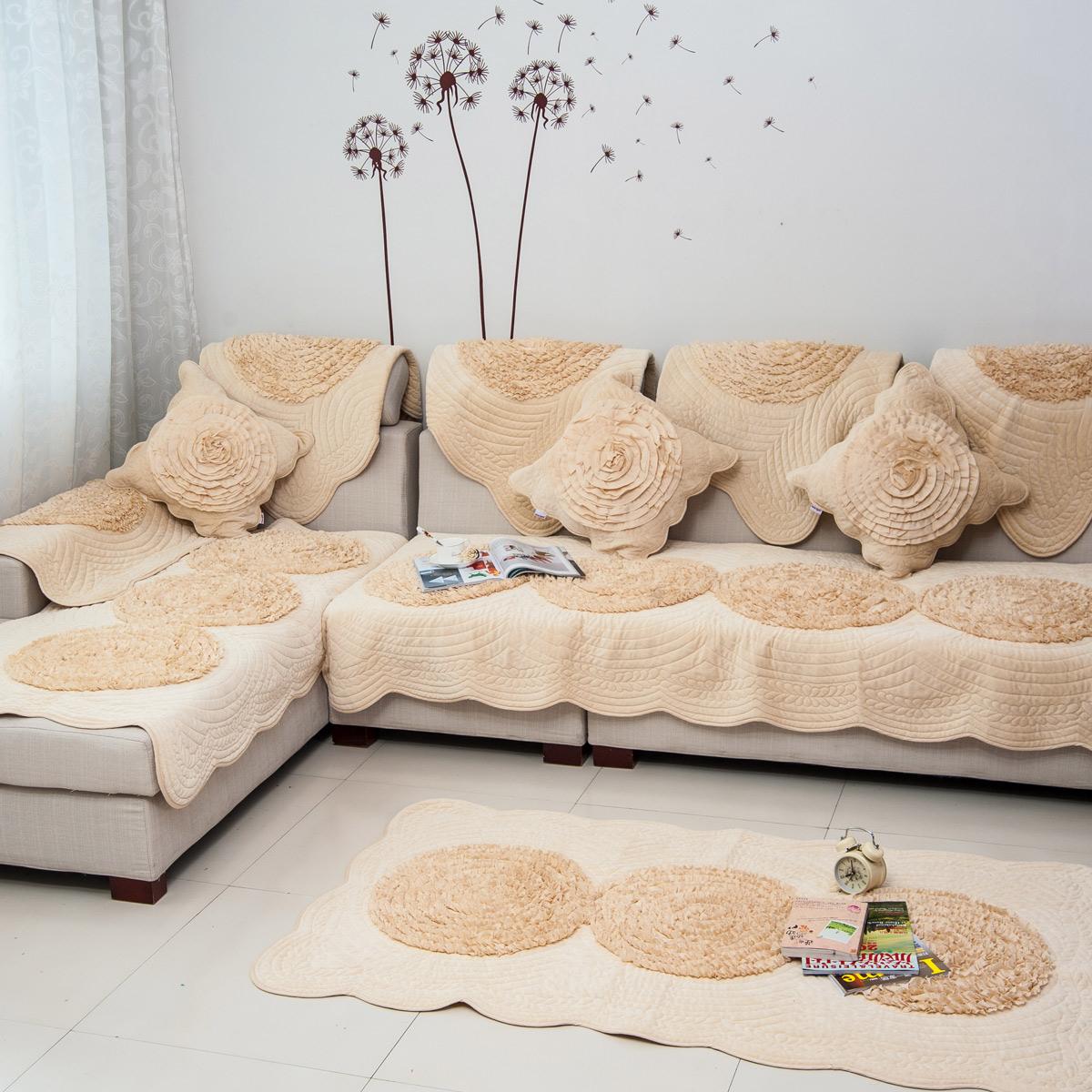 Накидки для диванов сшить самим