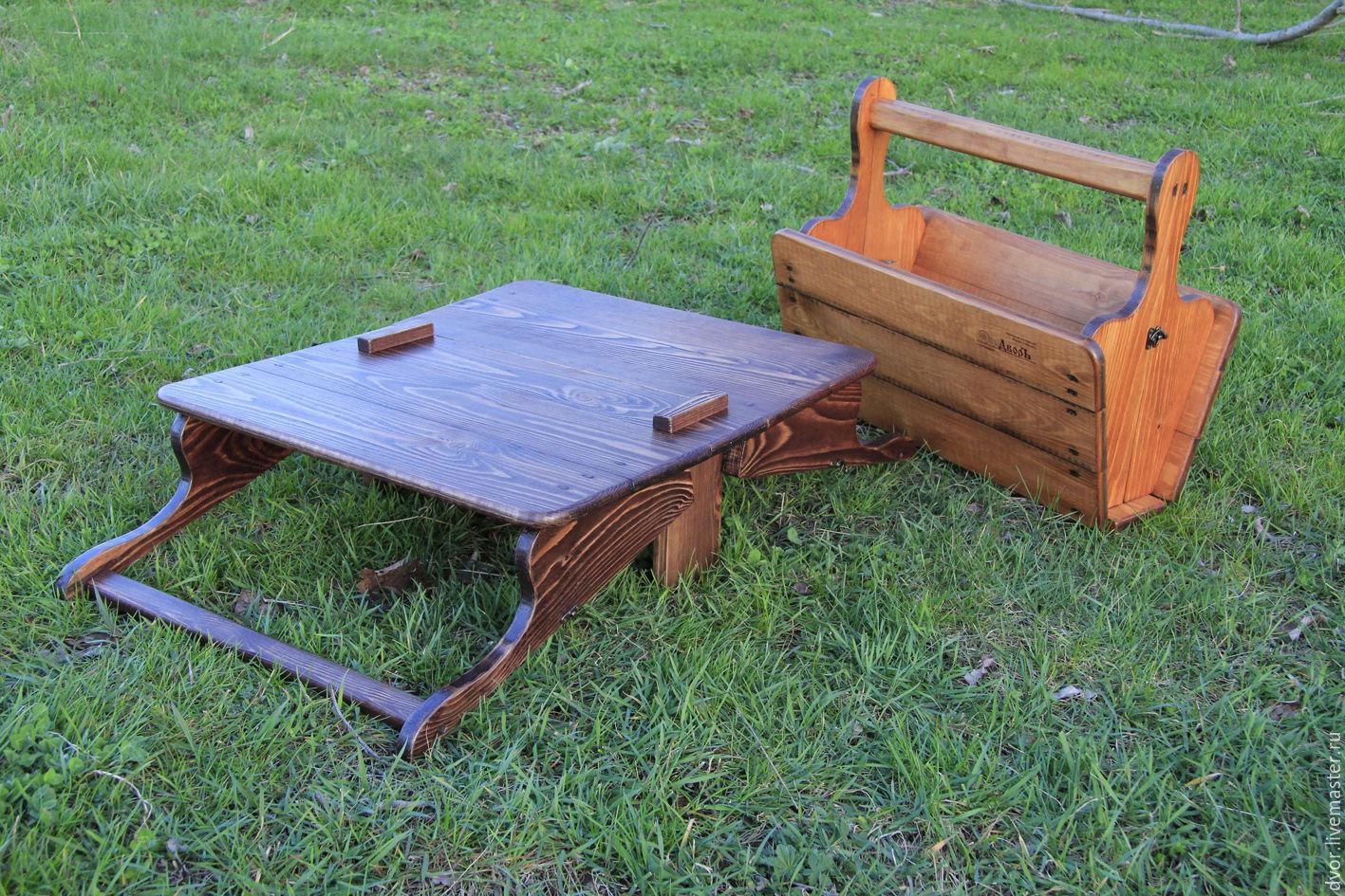 Как сделать походный стол фото 488